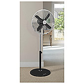 Swann Vintage Black 16 Stand Fan - 3 Speed