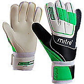 Goalkeeper Gloves Mitre Magnetite Junior - Black & Blue
