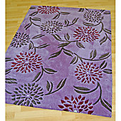 Origin Red Gem Plum Rug - 150cm x 80cm