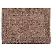 Tesco Reversible Bath Mat Mocha