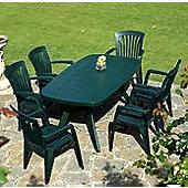 Nardi Toscana Rectangular 6 Seater Dining Set