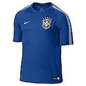 2014-15 Brazil Nike Training Shirt (Blue) - Blue