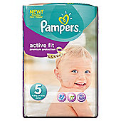 Pampers Active Fit Size 5 Monthly Pack - 136 Nappies