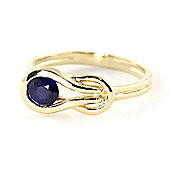 QP Jewellers 0.65ct Sapphire San Francisco Ring in 14K Gold