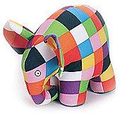 Elmer The Patchwork Elephant 18cm Plush Soft Toy