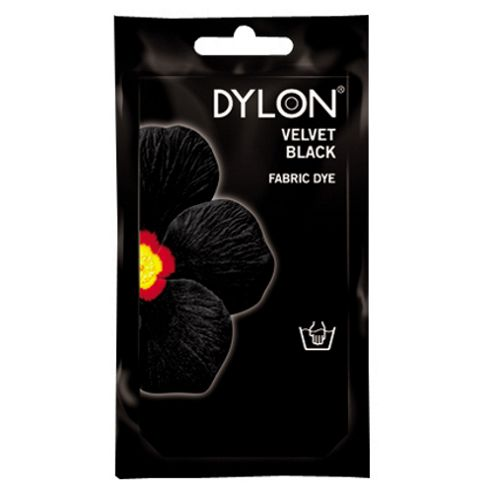 Dylon Fabric Dye - Hand Use - Velvet Black