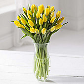 Simply Tulips Yellow Bouquet