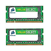 Corsair Microsystems Value Select SODIMM 4GB 800MHz DDR2 SDRAM Notebook Memory Module Kit