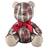 Cuddle & Love  Christmas Patterned Bear