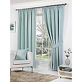 Rome Ready Made Lined Curtains - Blue