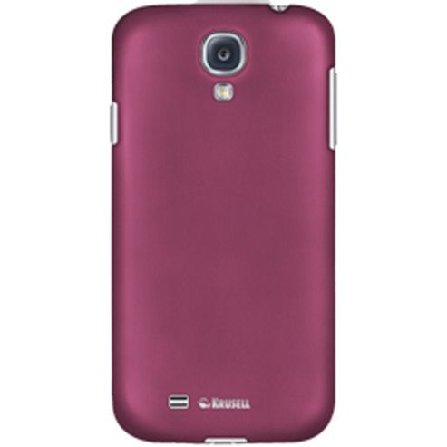 Krusell ColourCover Clip On Case for Samsung Galaxy S4 - Pink