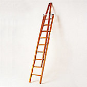 Trade 2.4m (7.87ft) Timber Double Window Cleaning Ladder