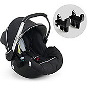 Hauck Duett 2 Zero Plus Select Car Seat (Black)