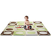 Skip Hop Playspot Playmat Mint and Chocolate
