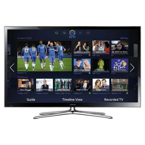 Samsung PS60F5500 60 Inch 3D Smart WiFi Built In Full HD 1080p Plasma TV With Freeview HD