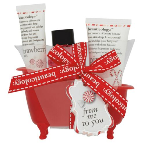 Beauticology Candy Cane Small Bath Set