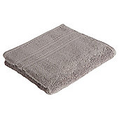 Tesco 100% Combed Cotton Hand Towel Slate Grey
