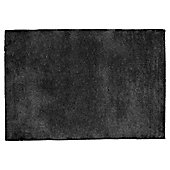 Tesco Plain Wool Rug 100 x 150cm, Black