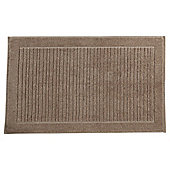 Finest Toweling Bath Mat Taupe
