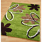 Origin Red Mardi Gras Lime / Chocolate Rug - 150cm x 80cm