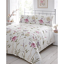 Dreams n Drapes Mimi Heather Single Quilt Set
