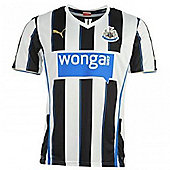 2013-14 Newcastle Home Football Shirt - White
