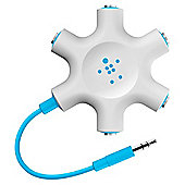 Belkin MixIt Range Rockstar Headphone Splitter in Blue