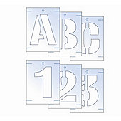 Letter & Number Stencil Kit 100mm