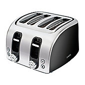 AEG AT7104BU 4 Slice Toaster with Wide Toasting Slots