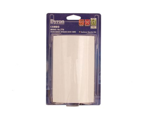 Byron 776 Combo Chime White