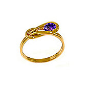 QP Jewellers 0.65ct Amethyst San Francisco Ring in 14K Rose Gold