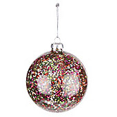 Disco Bead Christmas Bauble