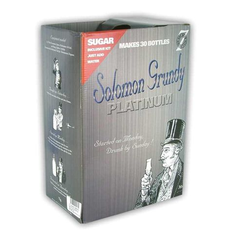 Solomon Grundy Platinum Chardonnay Kit - 30 Bottle