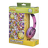 Moshi Monsters On-Ear Headphones for iPod/MP3 Players/Tablets - Pink