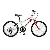 "Orbita BTT 20 H 6 Speed 20"" Wheel Mountain Bike (White)"