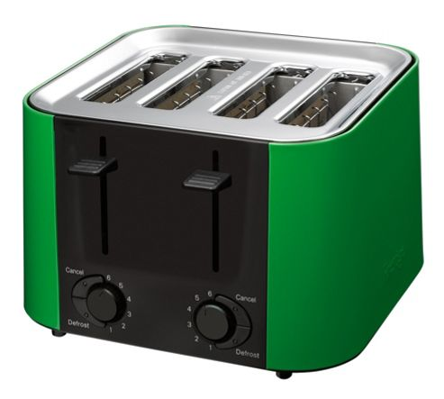 Meyer Prestige Daytona 4 Slice Toaster Green