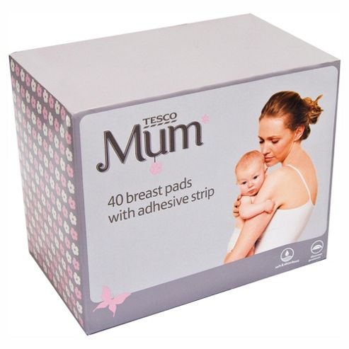 Tesco Breast Pads 40 pack