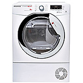 Hoover Condenser Tumble Dryer, DNCD813BC, 8kg load - White