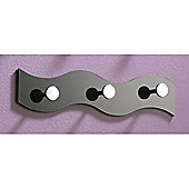 Urbane Designs Wall Coat Hooks (Set of 4) - Black
