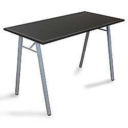 Dimu - Computer Workstation / Office Desk / Table - Silver / Black