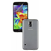 Pro-Tec Samsung Galaxy S5 Frosted TPU Case and Single Clear Screen Protector