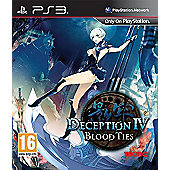 Deception Iv Blood Ties (PS3 )