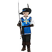 Child Musketeer Costume Large