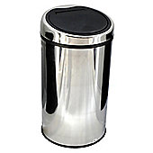 Tesco 30L Stainless Steel Touch Top Bin