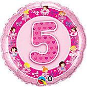 18' Age 5 Pink Ballerinas (each)