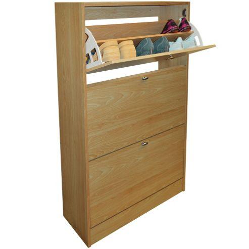 buy clyde compact 18 pair shoe storage organiser. Black Bedroom Furniture Sets. Home Design Ideas