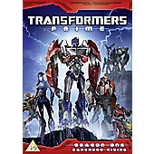 Transformers Prime: (S1) Darkness Rising: Part 1-5 (DVD Boxset)