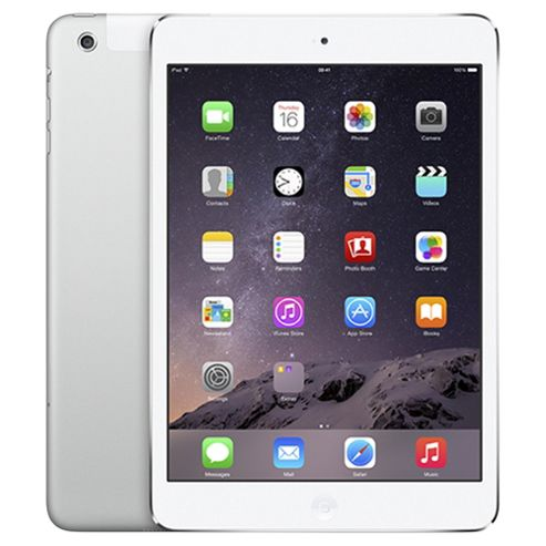iPad mini 2, 16GB, WiFi & 4G LTE (Cellular) - Silver