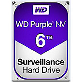 WD Purple 6TB 64MB 3.5IN SATA 6GB/S Hard Drive