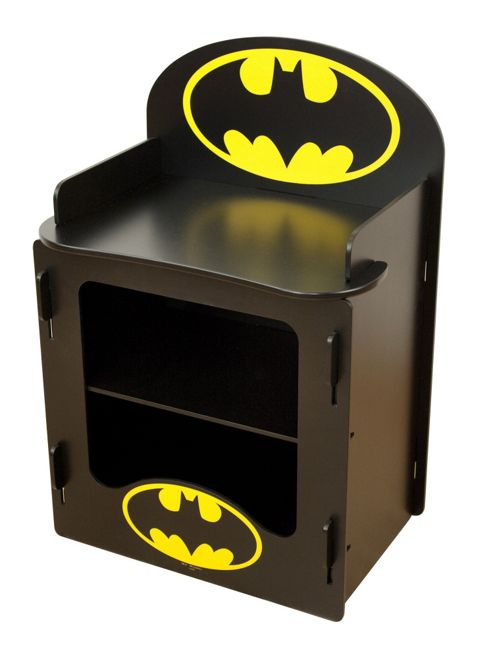 Character World Batman Batcave Bedside Cabinet